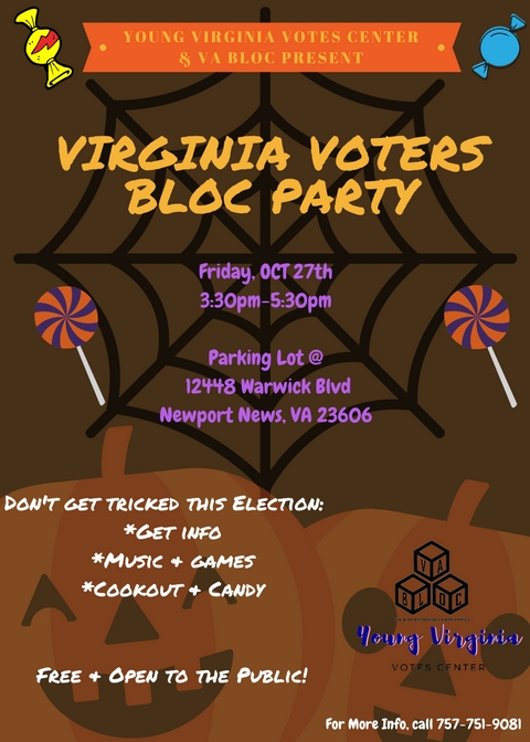 Young Virginia Votes and VA BLOC Present