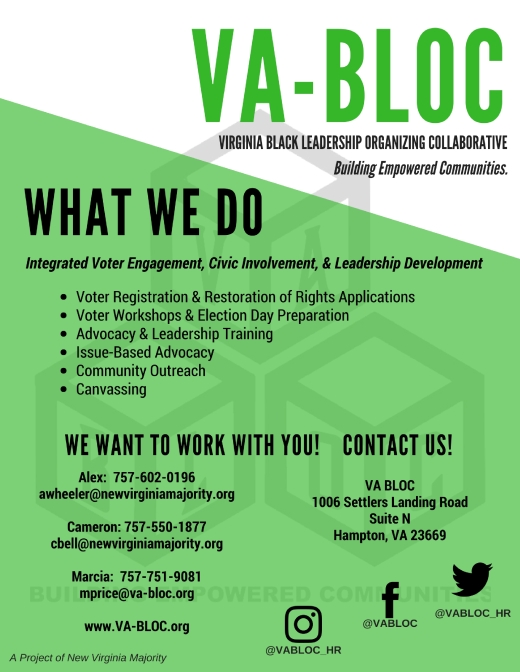 VA BLOC What We Do