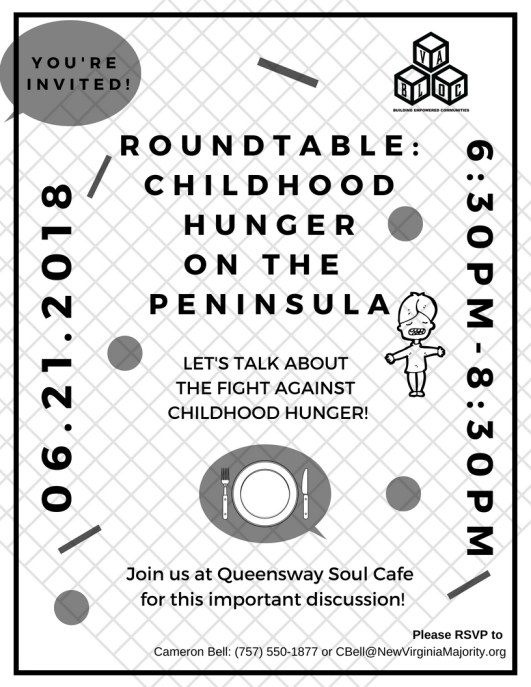 3rd CHILDHOOD HUNGER TALKBACK (1)
